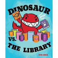 Write a Review Wednesday: Dinosaur vs Library