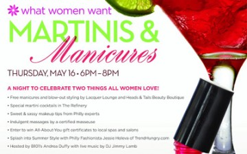 Martinis and Manicures at the SugarHouse Casino
