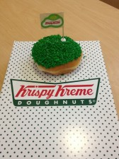 Score a Hole in One at @KrispyKremePHL #ad