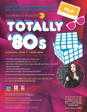 Totally 80's Sugarhouse CasinoInvite