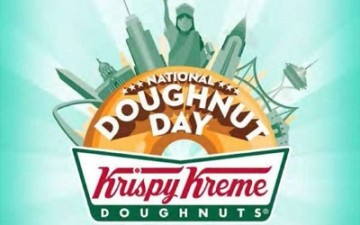 Join @KrispyKremePHL for #NationalDoughnutDay!