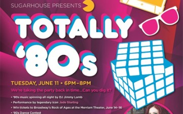 It's Like, Totally 80's at the Sugarhouse Casino