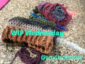 #WIP Wednesday: Unfinished Yarnthngs