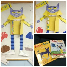 Please tell with Pete the Cat!