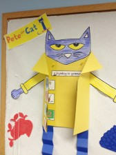 Pete the Cat Gets Groovy with #TBCCrafters