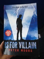 Reasons to Read Peter Moore's V is for Villain