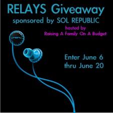 Fantastic Friday: Sol Republic Relays #Giveaway