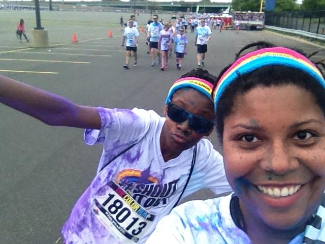 Color Run Selfie