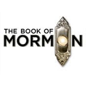 Photo credit from http://www.forrest-theatre.com/the-book-of-mormon.html
