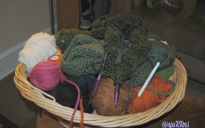 Bily yarn stash