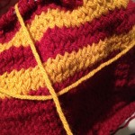 On the Needles: The Harry Potter Scarf
