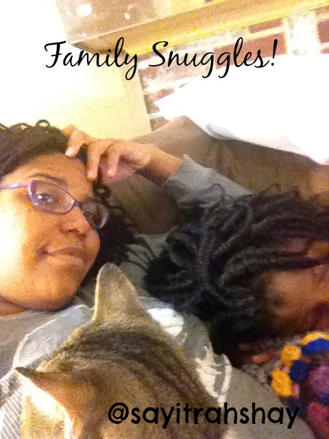 family Snuggles