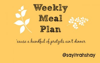 Say it Rahs-shay shares weekly meal plans for her and her teen