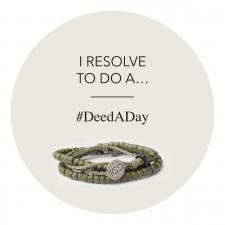 The #DeedADay Movement