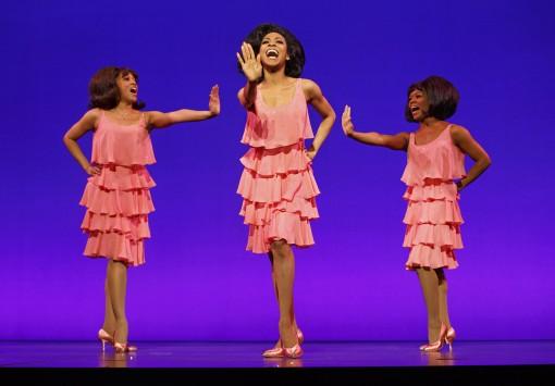 Krisha Marcano (Florence Ballard), Allison Semmes (Diana Ross) & Trisha Jeffrey (Mary Wilson)