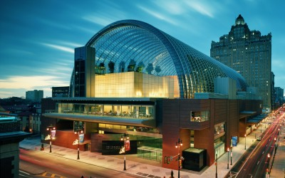 The Kimmel Center for the Performing Arts Photo: ©Jeff Goldberg/ Esto