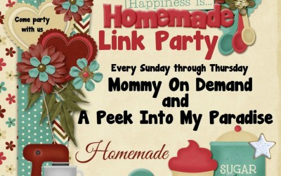 Happiness is Homemade Link Up #59