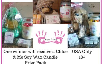 Chloe & Me Candle Giveaway