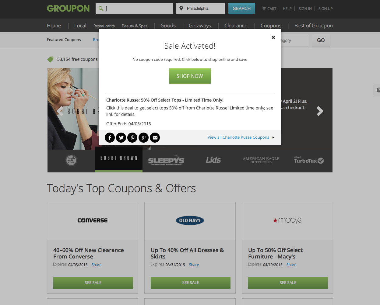 New! Groupon Coupons #sponsored - Say It, \