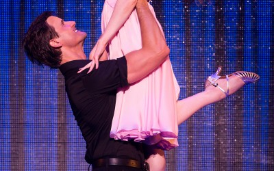 Samuel Pergande (Johnny) and Jillian Mueller (Baby) in the North American tour of DIRTY DANCING – THE CLASSIC STORY ON STAGE.