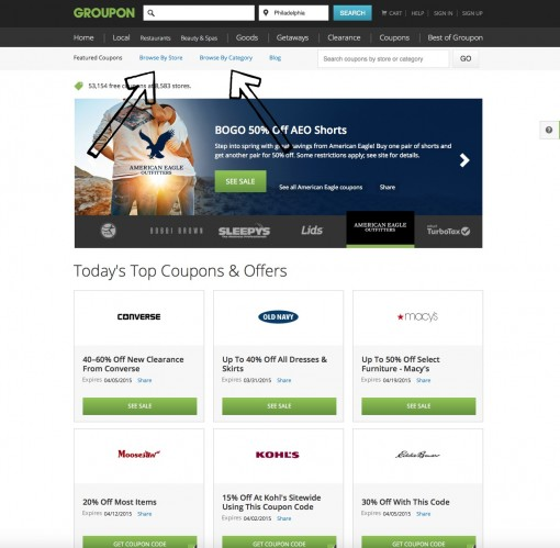 groupon browse