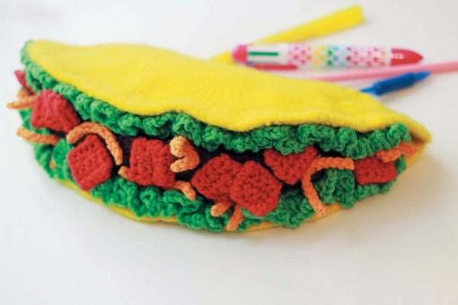Crocheted Abode a la Mode: taco