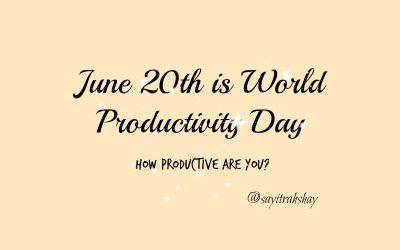 World Productivity Day