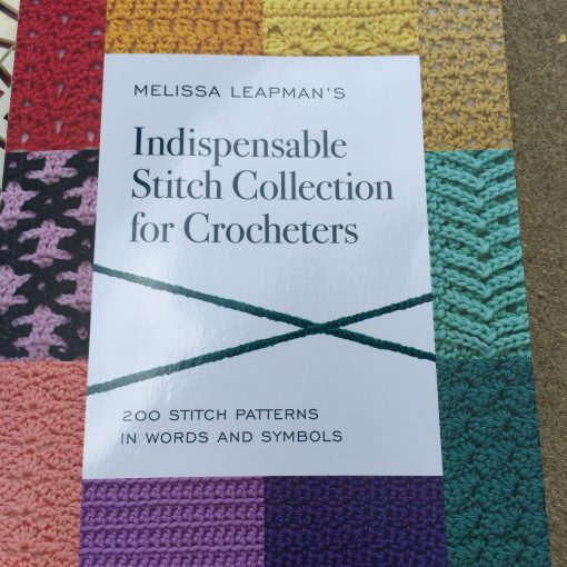 Book Review: Melissa Leapman's Indispensable Stitch Collection for Crocheters
