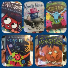 Five Picture Books to Share with Your Favorite Little Monster!