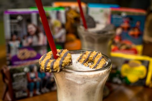 Girl Scout Cookie Shakes at @PunkBurger!