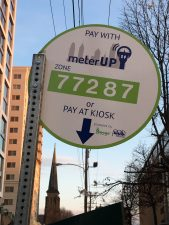 Review: Paying for Parking with meterUp App