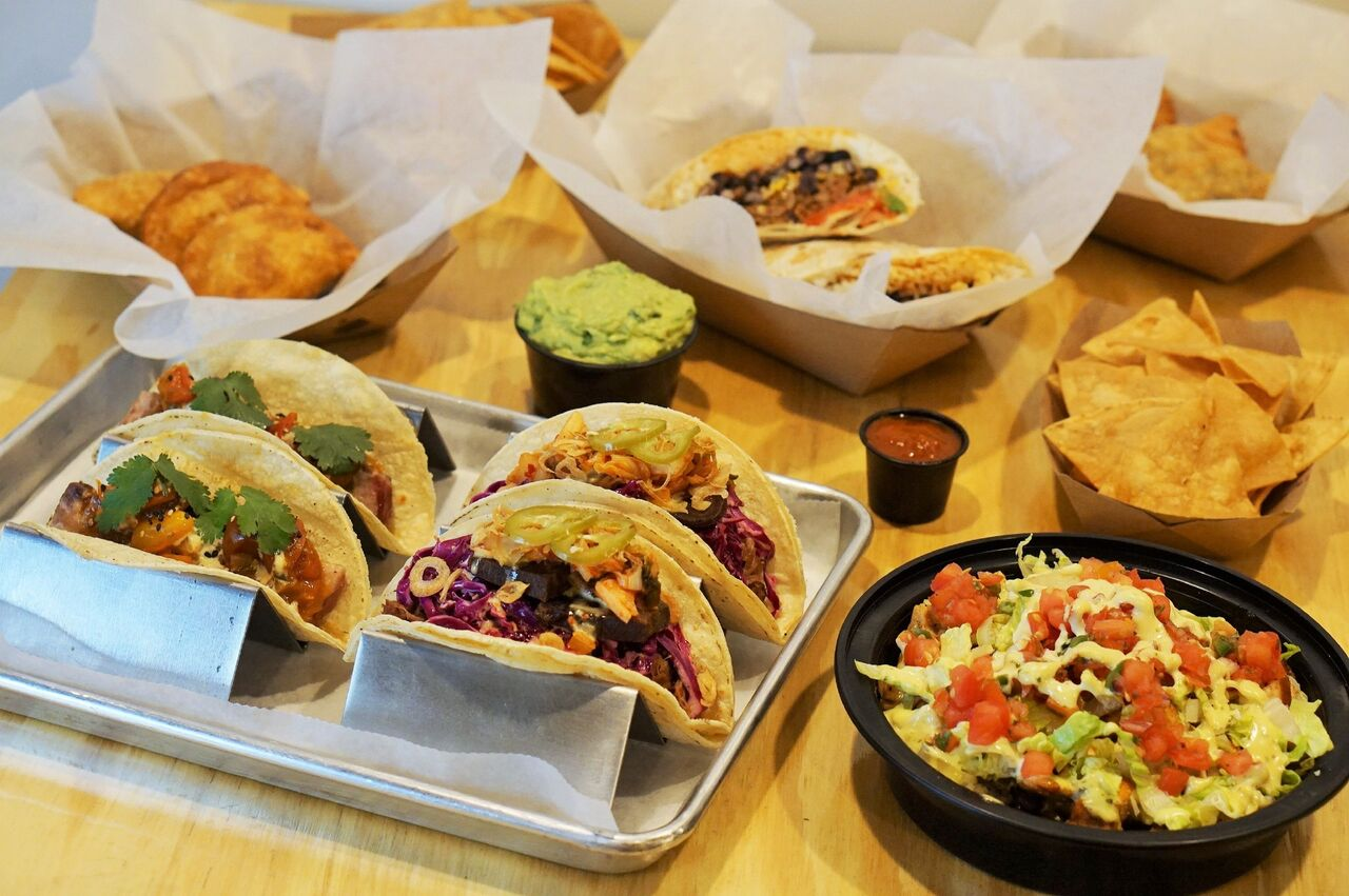 Make Your Own Taco Buffet with Revolution Taco