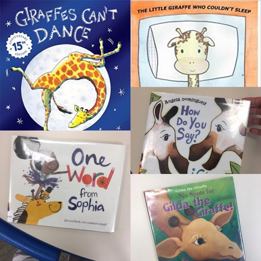 world giraffe day picture books