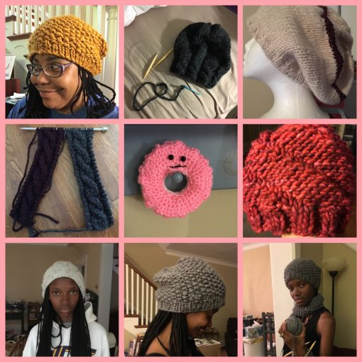 August Crafting Wins: Knitting and Crocheting
