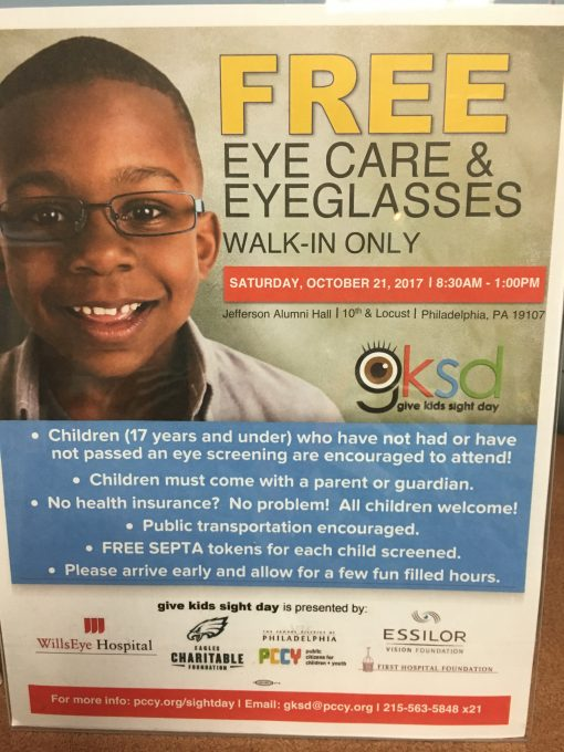 Give Kids Sight Day Returns October 19th!