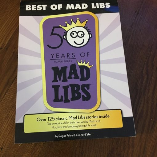 Book Review: Mad Libs
