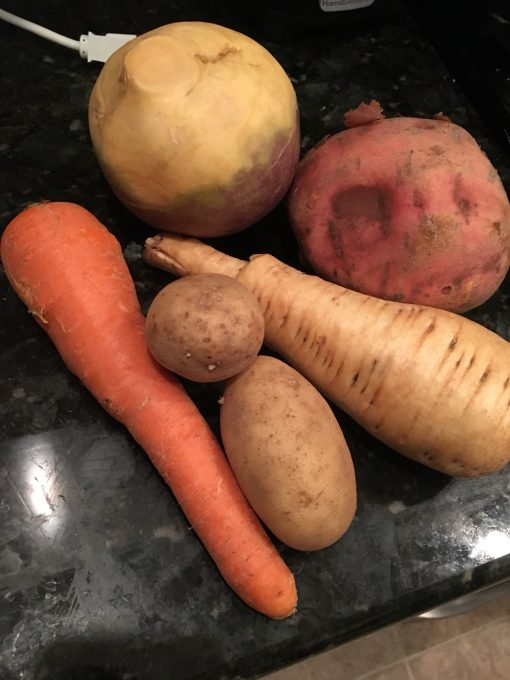 Souper Sunday: Roasted Root Veggie Soup