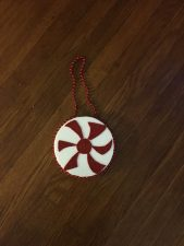 Create Your Own Peppermint Ornament