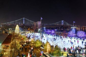 Philly's Winter Wonderland — Blue Cross RiverRink Winterfest opens November 24th